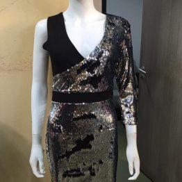 Дамска къса рокля Жасмина