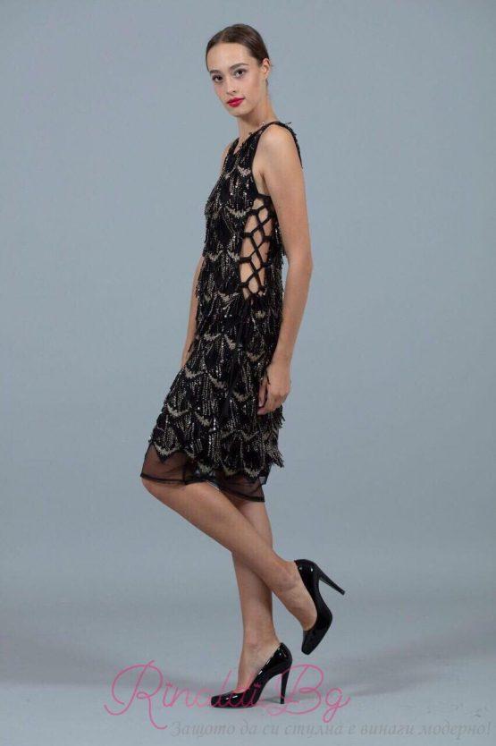 Дамска рокля Перо