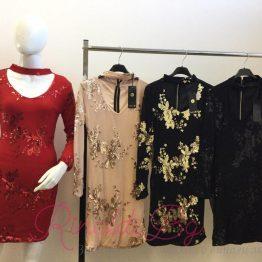 Дамска рокля Цветове