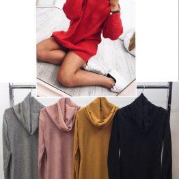 Дамска туника-пуловер Топлина