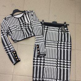 Дамски комплект Black&White