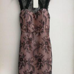 Ефектна дамска рокля Флорал