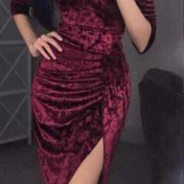 Официална плюшена рокля Даниела