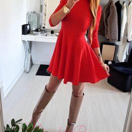 """Дамска памучна рокля """"Свилена"""""""