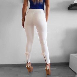 Дамски панталон с панделка