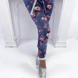 """Дамски панталон с цветя """"Флауърс"""""""