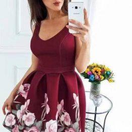 """Дамска разкроена рокля """"Лаура"""""""