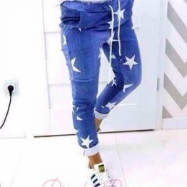 """Дасмки панталон със звезди """"Старла"""""""