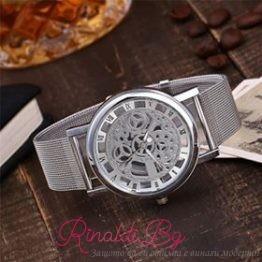 Дамски часовник Сребро