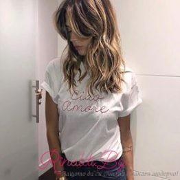 """Дамска блуза """"Ciao Amore"""""""