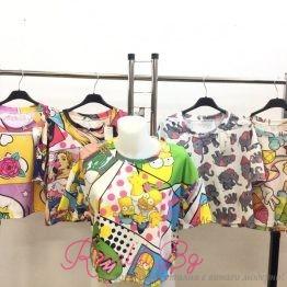 Дамска блуза Комик принт