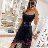 Дамска дантелена рокля