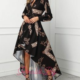 Дамска рокля асиметрична