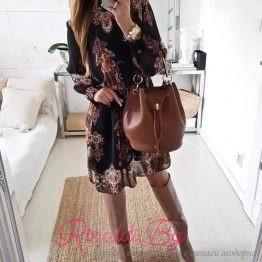 Дамска рокля Мотиви