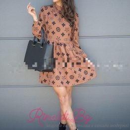 Дамска рокля Симетрик