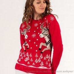 Дамски пуловер Еленчета