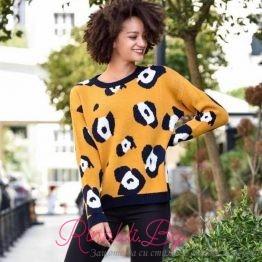 Дамски пуловер Топлина