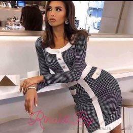 Елегантна дамска рокля Суит