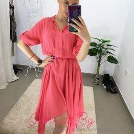 Дамска асиметрична рокля