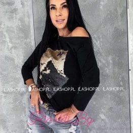 Дамска блуза с пайети