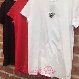 Дамска тениска с пчеличка