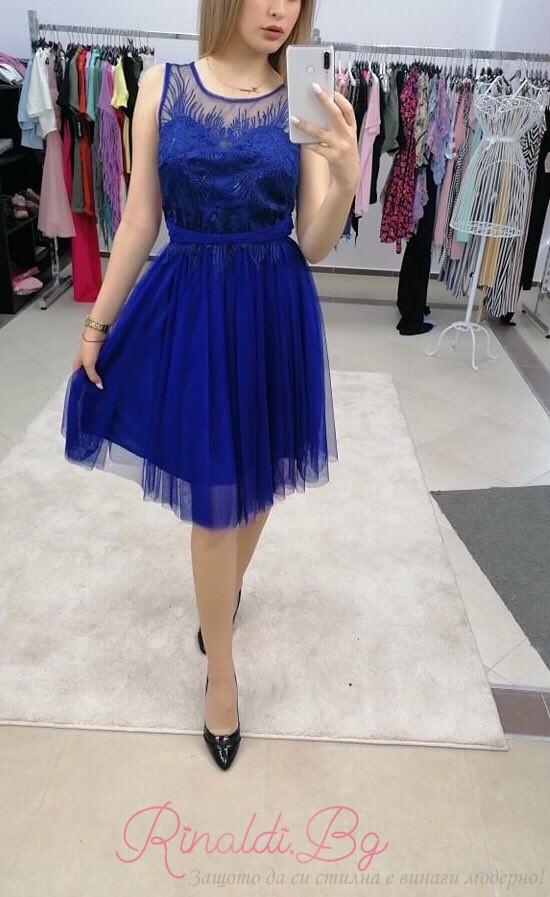 Дамски рокли с тюл