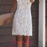 """Елегантна бяла рокля """"Италиана""""-2"""