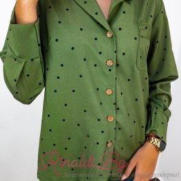 Дамска риза на точки