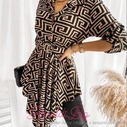 Дамска туника-рокля с фигурални елементи различни видове