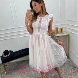 Дамска рокля с тюл официална Кити