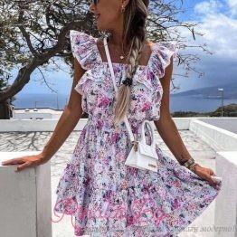 Дамски къси летни рокли