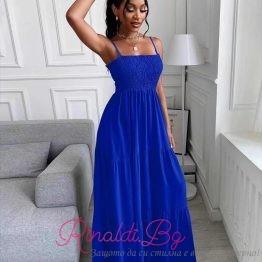 Дамска дълга лятна рокля CASA