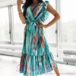 Дамска лятна рокля IZABELLA